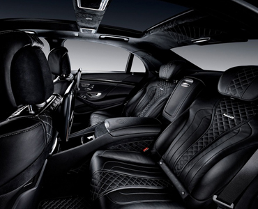 Mercedes Benz S63 AMG interior view